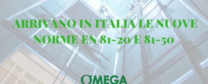 Arrivano in Italia le nuove norme en 81-20 e 81-50